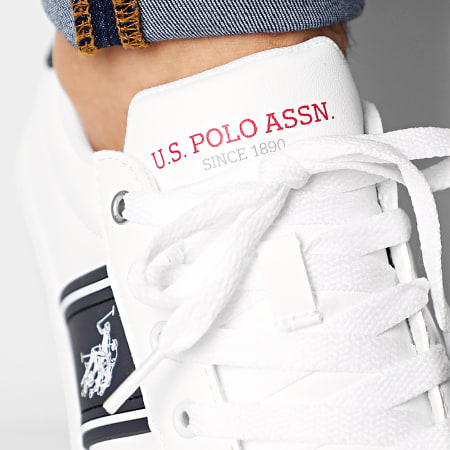 US Polo ASSN - Baskets Aric Club White