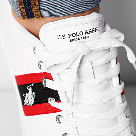 US Polo ASSN - Baskets Elwin White