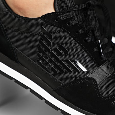 Emporio Armani - Baskets X4X215-XL198 Black