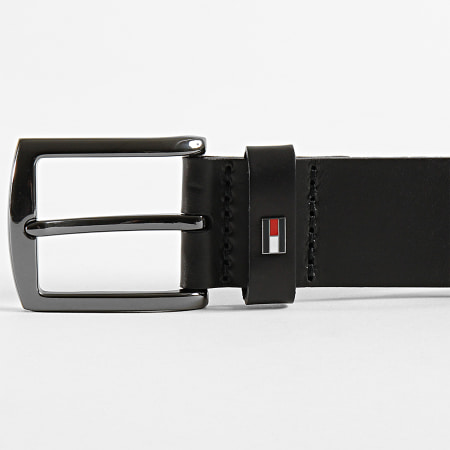 Tommy Hilfiger - Ceinture Denton Leather 5884 Noir