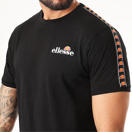 Ellesse - Tee Shirt A Bandes Judd SLB10139 Noir