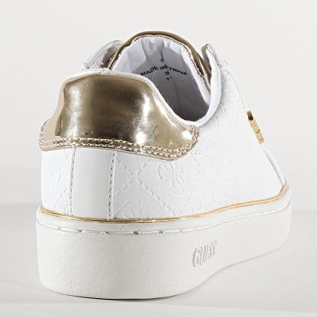 Guess - Baskets Femme FL5BEKFAL12 White