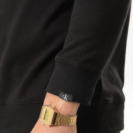 Calvin Klein - Sweat Zippé Capuche Full Zip 1865E Noir