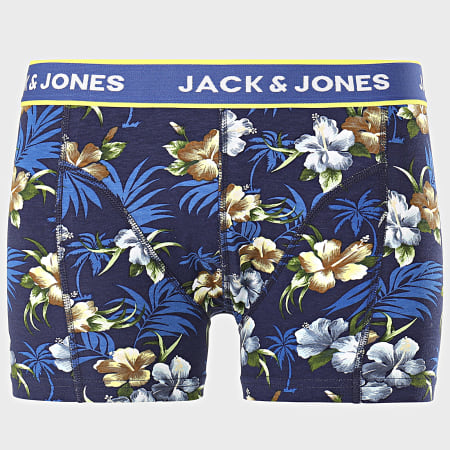 Jack And Jones - Lot de 3 Boxers Flower Noir Floral