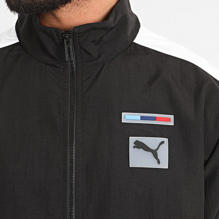 Puma - Veste Zippée BMW Motorsport Woven 596577 Noir
