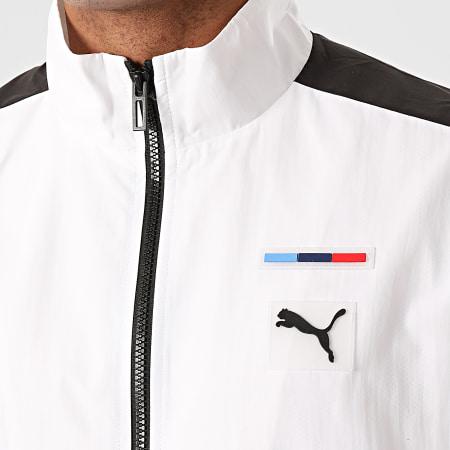 Puma - Veste De Sport A Bandes BMW Motorsport 596577 Blanc