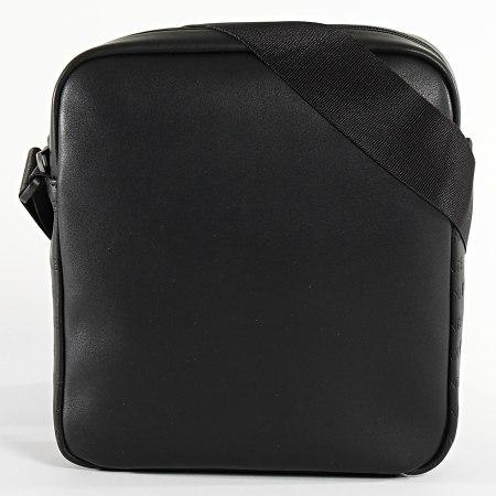 Armani Exchange - Sacoche Zip Top Reporter Noir
