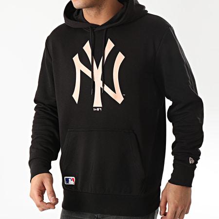 New Era - Sweat Capuche MLB Seasonal Logo New York Yankees 12195423 Noir