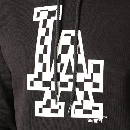New Era - Sweat Capuche MLB Infill Logo Los Angeles Dodgers 12195443 Noir