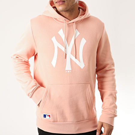 New Era - Sweat Capuche MLB Seasonal Team Logo New York Yankees 12200170 Rose