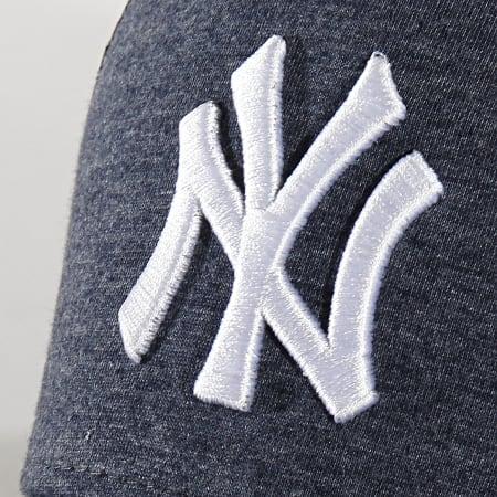 New Era - Casquette Trucker Jersey Essential 12285421 New York Yankees Bleu Marine Chiné