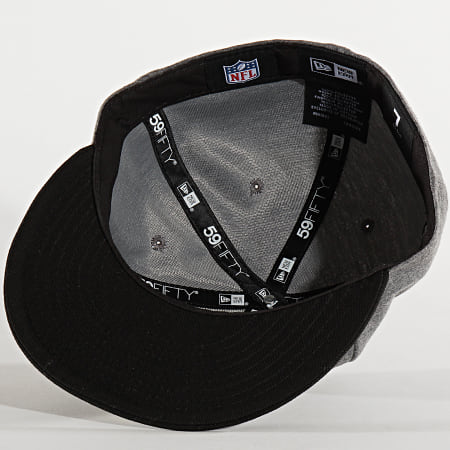 New Era - Casquette Fitted 39Thirty Jersey Essential 12285427 Oakland Raiders Gris Chiné