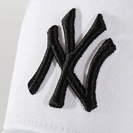 New Era - Casquette Trucker Essential A Frame 12285467 New York Yankees Blanc Noir