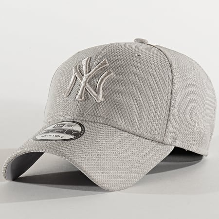 New Era - Casquette 9Forty Diamond Era 12285516 New York Yankees Gris
