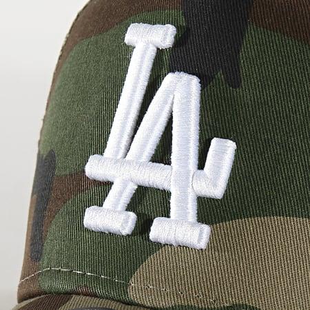 New Era - Casquette Trucker Essential A Frame 12285541 Los Angeles Dodgers Camo Vert Kaki