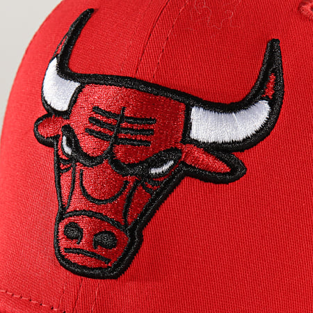 New Era - Casquette Enfant 9Fifty Team Stretch Snap 12301115 Chicago Bulls Rouge