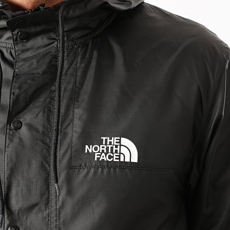 The North Face - Coupe-Vent A Capuche 1985 Mountain CH37 Noir