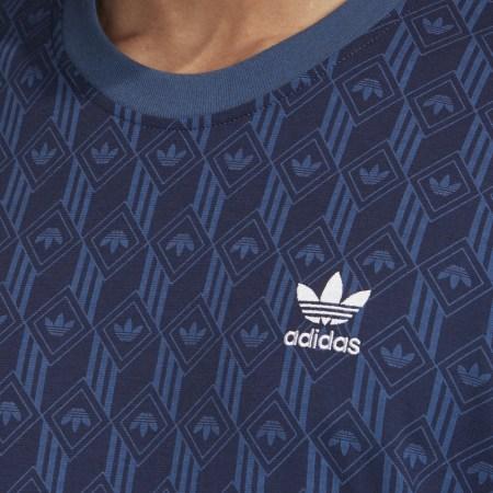 *adidas - Tee Shirt FM3422 Bleu Marine
