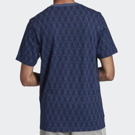 adidas - Tee Shirt FM3422 Bleu Marine