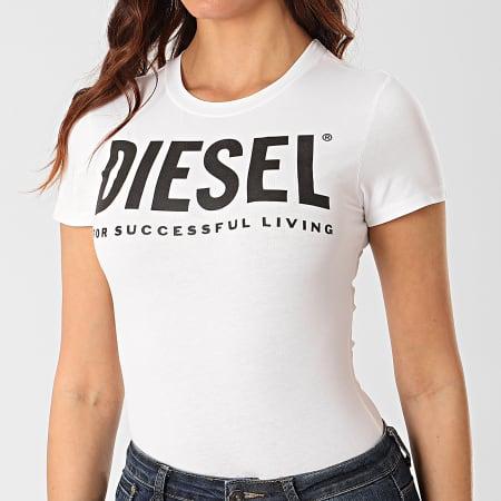Diesel - Body Tee Shirt Femme 00SHMI-0WAWG Blanc
