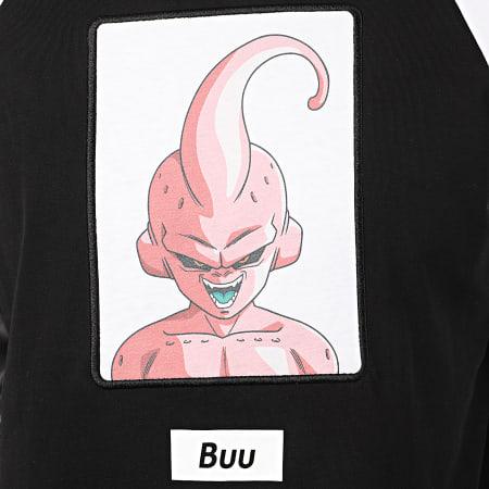 Dragon Ball Z - Tee Shirt Manches Longues Buu Bicolore Noir Blanc