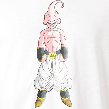 Dragon Ball Z - Tee Shirt A Bandes Buu Bicolore Blanc Noir