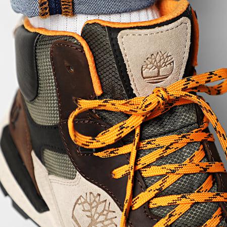 Timberland - Baskets Field Trekker Mod Hiker A23MD Dark Brown Full Grain Tan