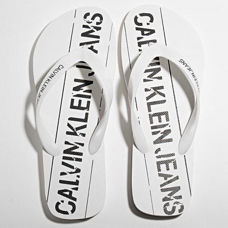 Calvin Klein - Tongs Edmur B4S0677 White Black