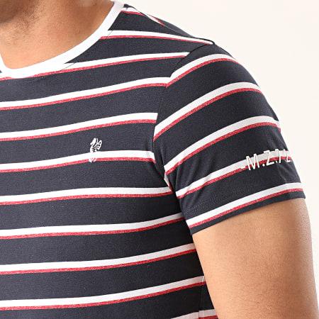 MZ72 - Tee Shirt A Rayures Trueblue Bleu Marine