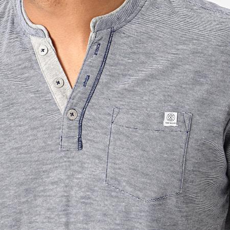 Tom Tailor - Tee Shirt Poche 1016145-XX-10 Bleu Clair