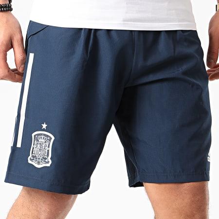 adidas - Short Jogging A Bandes FEF DT SHO FI6288 Bleu Marine