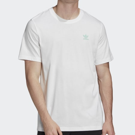 *adidas - Tee Shirt FM3348 Blanc
