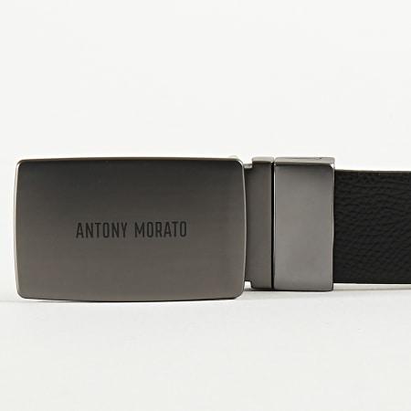 Antony Morato - Ceinture Réversible MMBE00406 Noir Bleu Marine