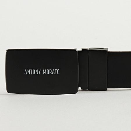 Antony Morato - Ceinture Réversible MMBE00407 Noir Bleu Marine