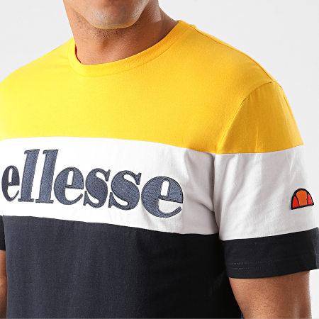 Ellesse PUNTO Bleu marine//jaune T-shirt en coton