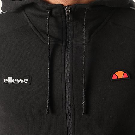 Ellesse - Sweat Capuche Zippé Averello SXE07356 Noir