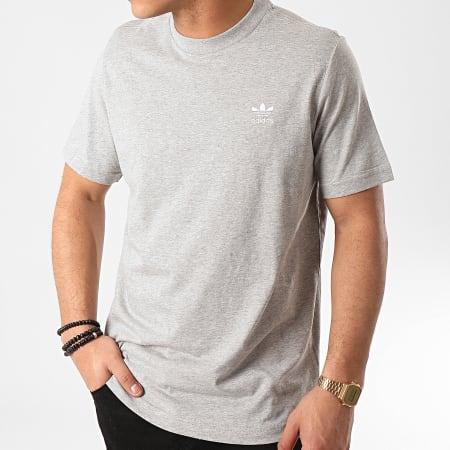 adidas - Tee Shirt Essential FM9962 Gris Chiné