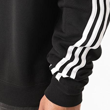 adidas - Sweat Crewneck 3 Stripes Wrap FM1522 Noir