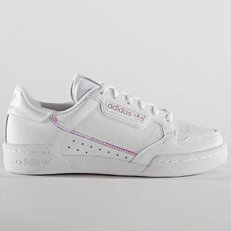 adidas - Baskets Femme Continental 80 FU6669 Cloud White Core Black