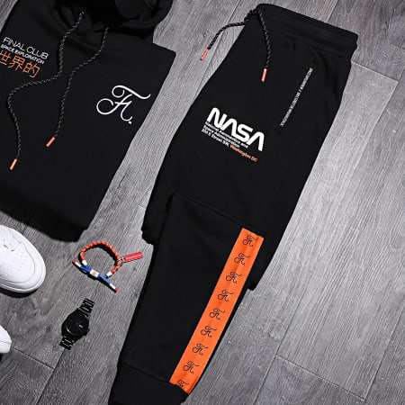 Final Club x NASA - Pantalon Jogging Space Exploration 361 Noir