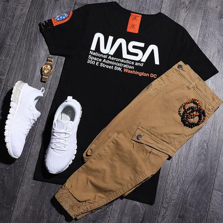 Final Club x NASA - Tee Shirt Space Exploration Avec Patch Et Broderie 356 Noir