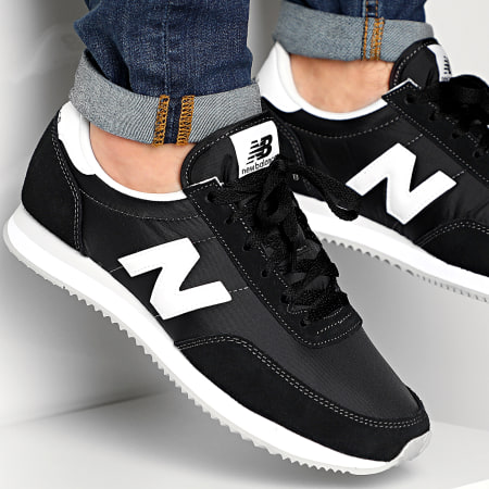 New Balance - Baskets Classics 777631 Black White