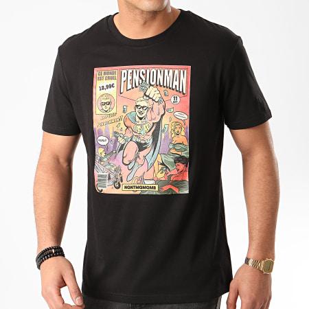 Vald - Tee Shirt Pensionman Noir