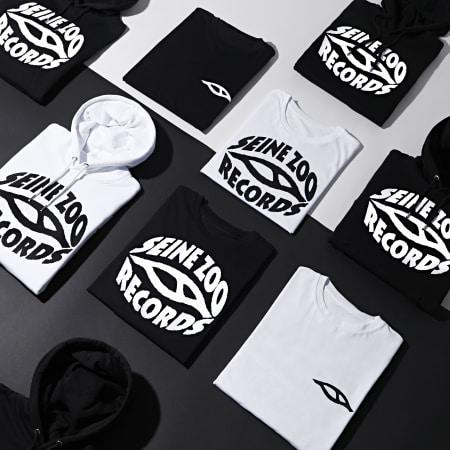 Seine Zoo - Sweat Capuche Logo Noir