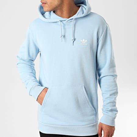 adidas Sweat Capuche Essential FM9959 Bleu Ciel