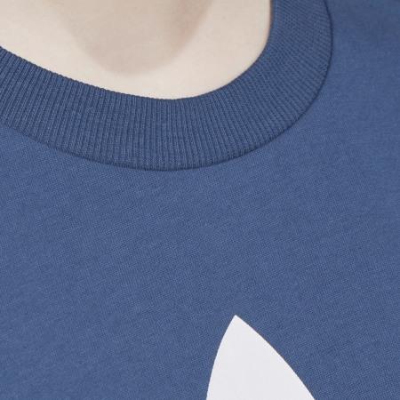 *adidas - Tee Shirt Femme Boyfriend Trefoil FM3284 Bleu