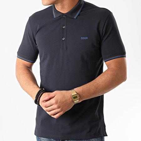 HUGO By Hugo Boss - Polo Manches Courtes Dinoso 202 50425770 Bleu Marine