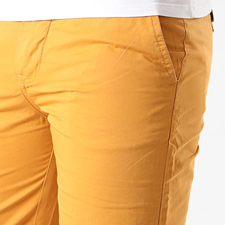 La Maison Blaggio - Short Chino Matt Moutarde
