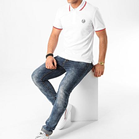 Sergio Tacchini - Polo Manches Courtes Reed 020 38710 Blanc