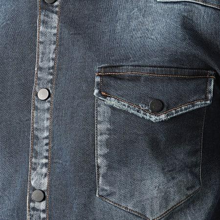 Uniplay - Chemise En Jean 277 Bleu Brut